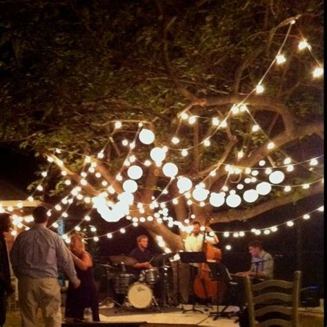 Adam &Ivy's rustic outdoor DIY wedding. The jazz band made