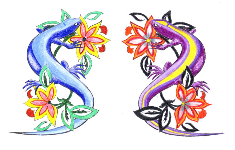 Art Lily Flower Tattoo Designs Water Armband This Tattoo Clip Art