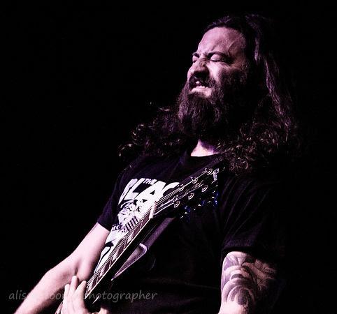 John Strickland, vocals and guitar, Lullwater