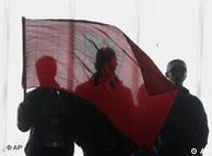 Mitglieder der nationalistischen Bewegung
