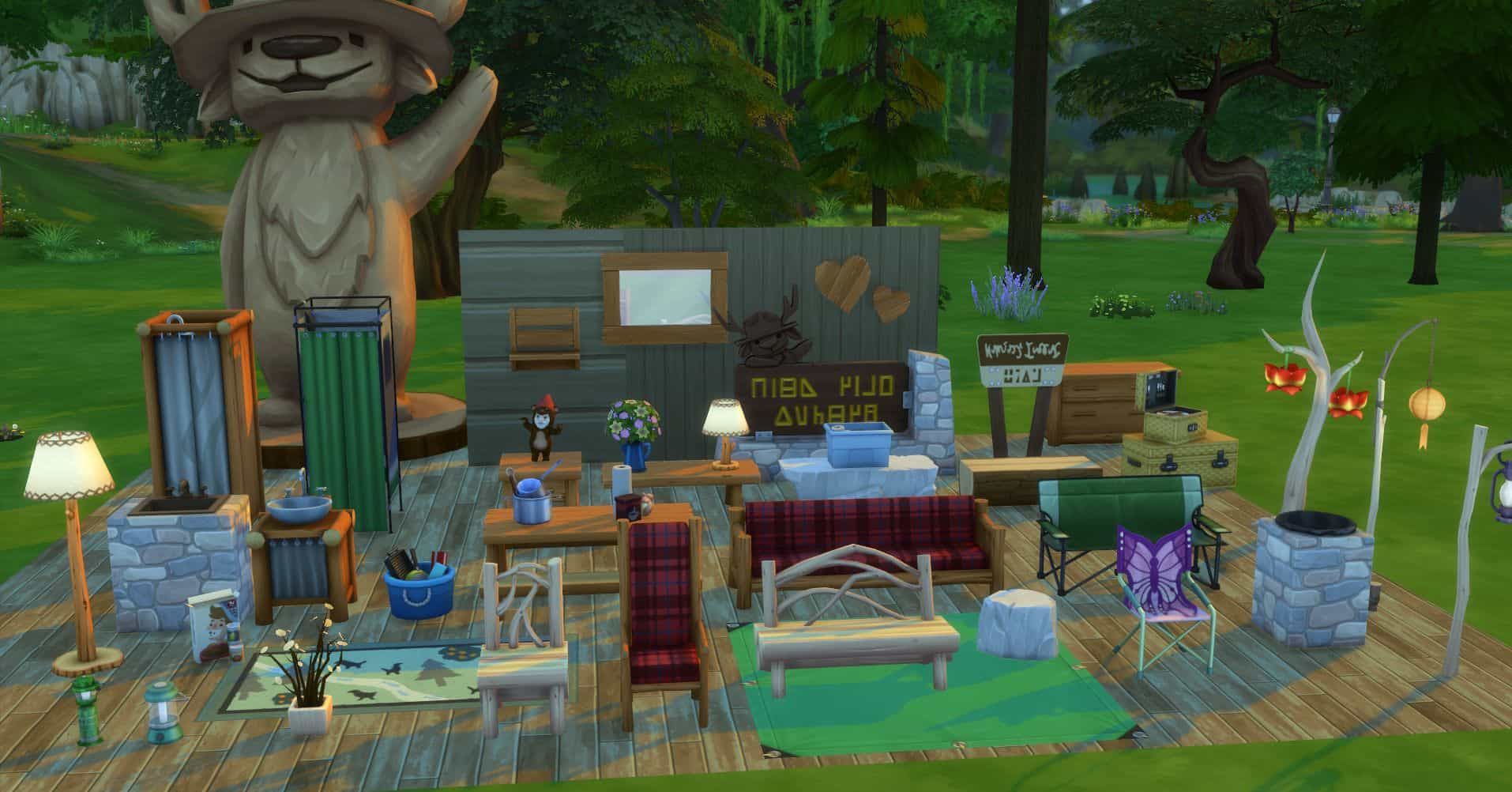 The Sims 4 Outdoor Retreat Free download game