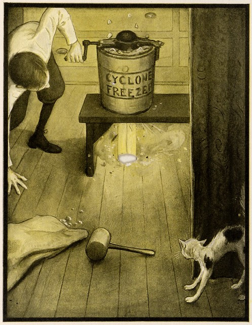Illustrated children's book : The Rocket Book 1912 w