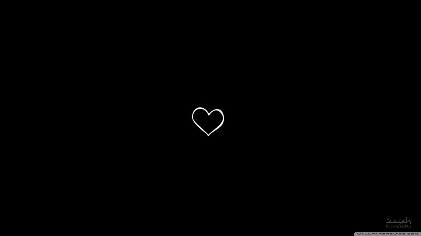 Wallpaper Hd 1080p Black And White Heart Wallpapers Inspire