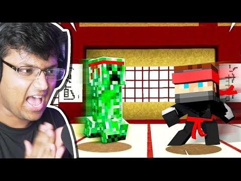 I Became NINJA In Minecraft! (CUTE)