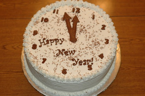 New Year's Cake by Shani Cakes