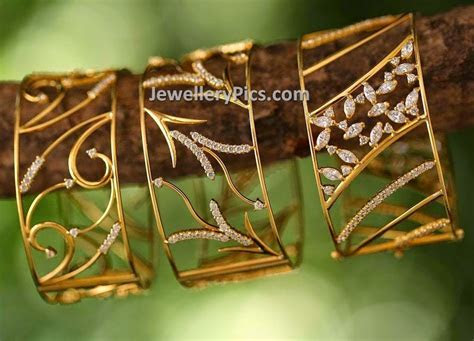 jewellery design pictures: Contemporary bangle designs by