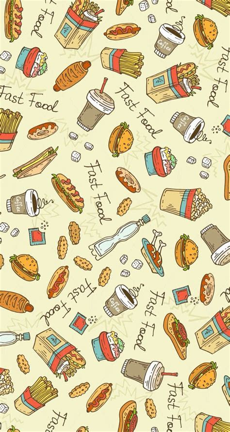 The fast food wallpaper :)   Wallpapers HD   Pinterest