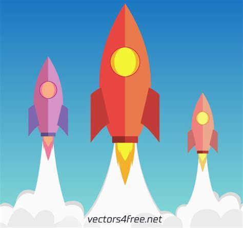 Vector rocket for free download about (55) vector rocket