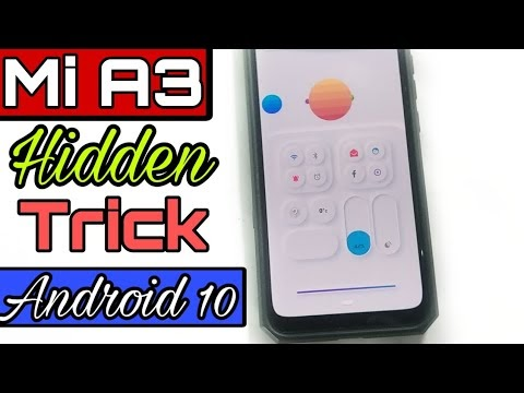 Mi A3 Android 10 Customized trick