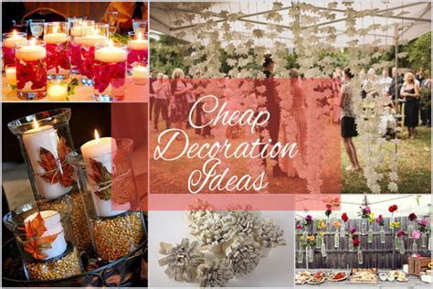 Cheap Wedding Decoration Ideas for Your Big Empty Space!