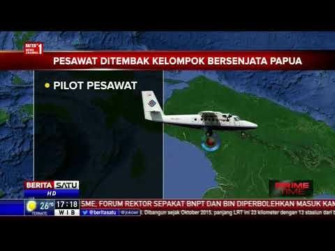 Trigana Air Ditembaki Kelompok Kriminal Bersenjata Papua: 3 Tewas