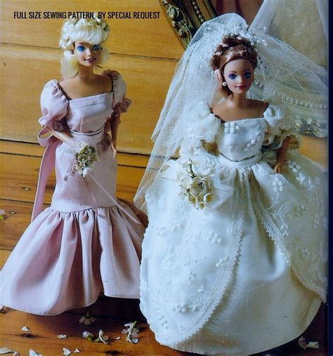 Original Full Size Sewing Pattern to make A Wedding Dress