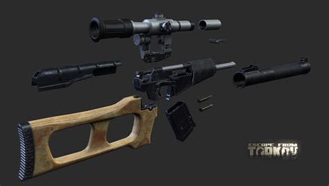 vss vintorez weapons department escape  tarkov forum