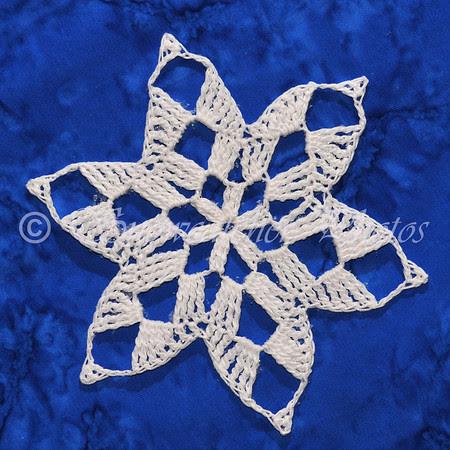 Marble Snowflake