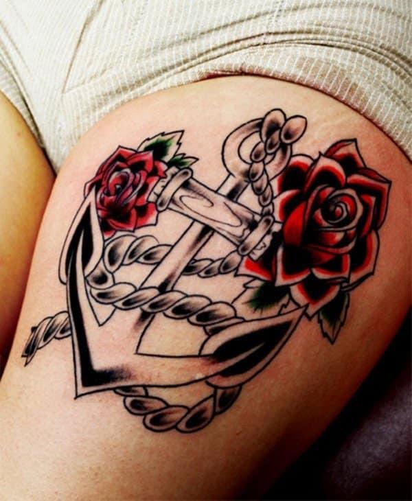 55 Gorgeous Thigh Tattoos Designbump