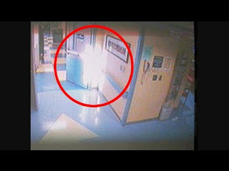 Ángel aparece en hospital / Angel Appears in a Hospital CCTV