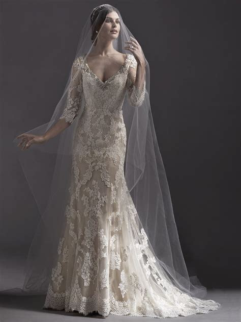 120 best images about Sleeved Wedding Dresses on Pinterest