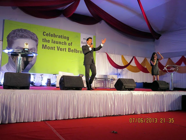 "Auction of ""Golden Ball"" to raise funds for The Poona Blind Men's Association -  Murali - Muthiah Muralidaran - at Mont Vert Belbrook, Bhugaon, Pune 411042"