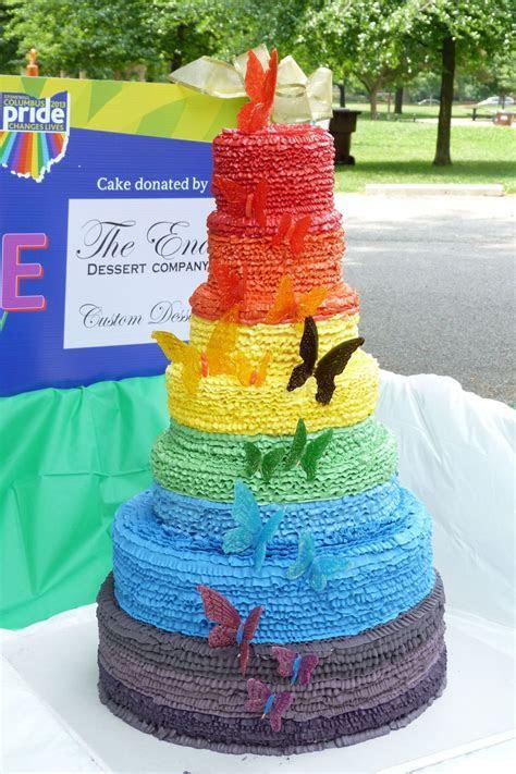 2013 Gay Pride Festival Wedding Cake For Columbus Ohio 7