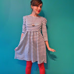 Nautical Knit Dress