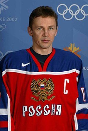 Larionov Russia Olympics 2002, Larionov Russia Olympics 2002