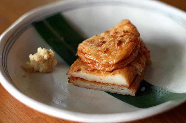 Satsuma-Age Yaki - Grilled Japanese Homemade Fish Cake
