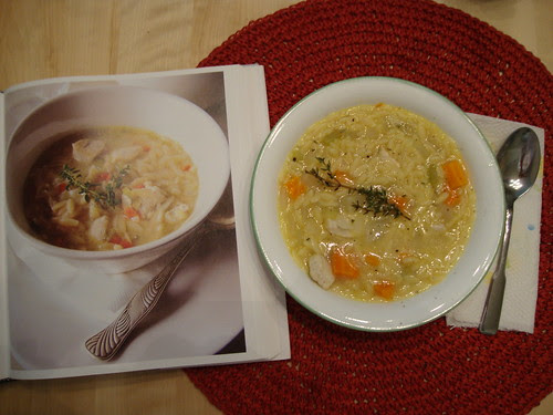 Lemon Chicken Orzo Soup from The Food You Crave