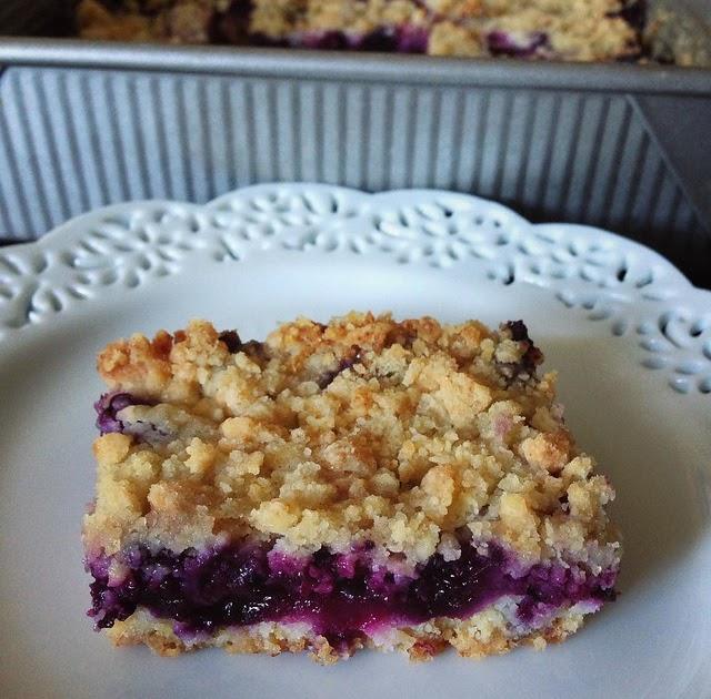 Smitten Kitchen Blueberry Bars