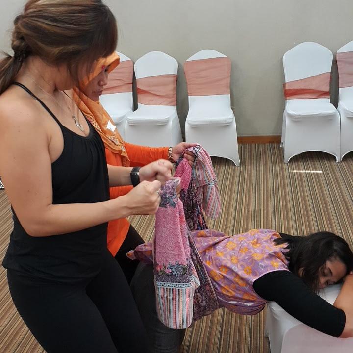Saya mengenal spinning babies sejak sekitar dua atau tiga tahun yang lalu Workshop Spinning Babies Jakarta 2016