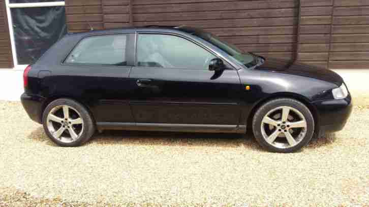 Audi A3 1.8 Sport Black 2000 Full Service History New Mot No