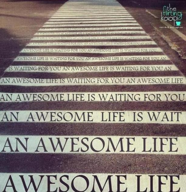 Poster: Awesome Life