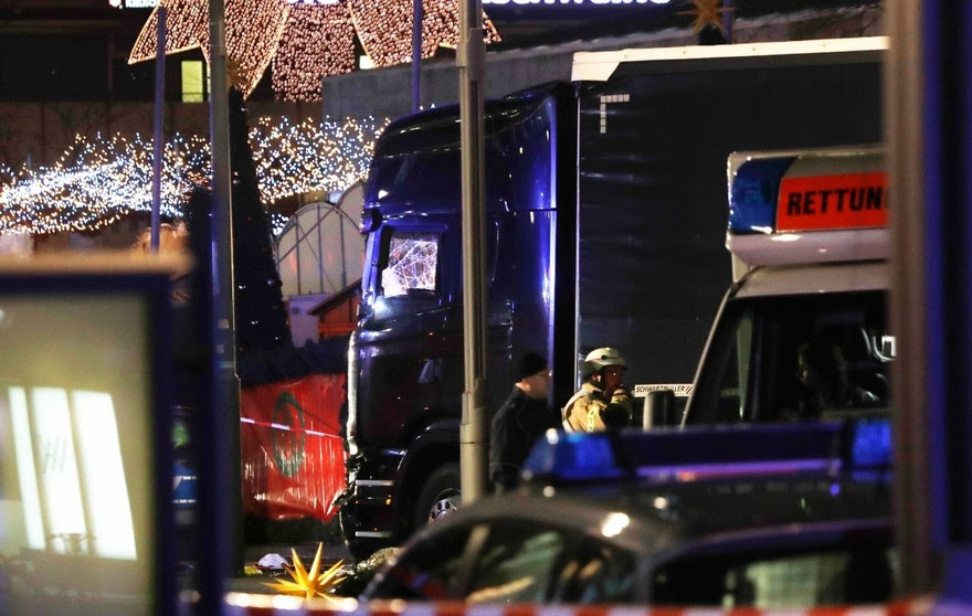 Image result for At least 9 dead, dozens more injured after truck plows into Berlin Christmas market