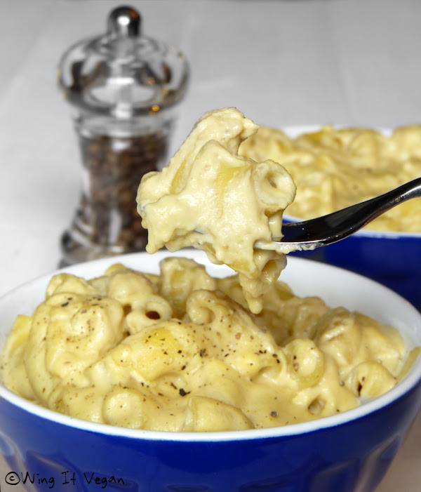 Creamy Cashew Mac and Cheese