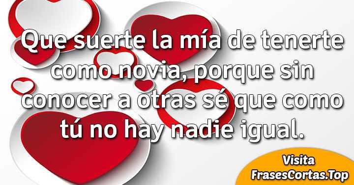 Frases De Amor Cortas Bonitas Y Romanticas Para Novio Y Novia