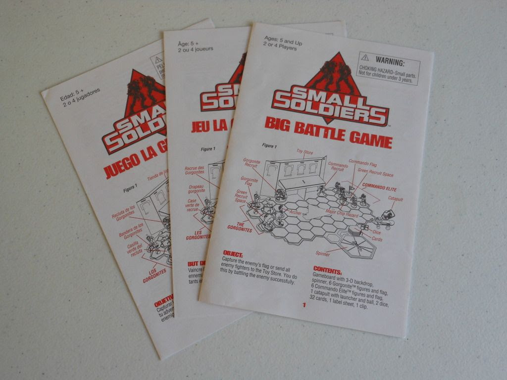 Small Soldiers: Big Battle Game - rules