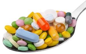 Tabletter i massor