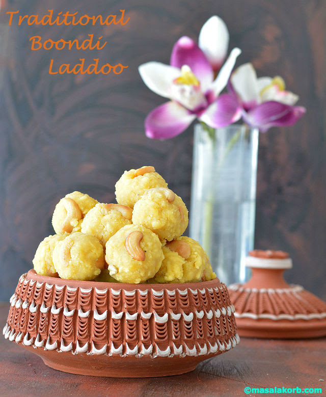 Traditional boondi laddoo