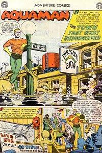 Adventure #246 Aquaman Splash Page