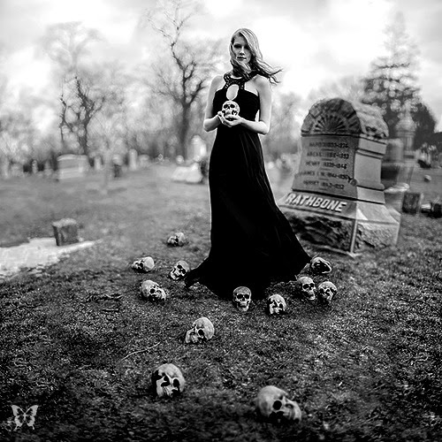 whitesoulblackheart:  Boneyard byDana Marie The evil that men do lives after them; the good is oft interred with their bones-William Shakespeare   The Dead arise with evil in their hearts. They can be killed by a spell. Thanks god for witches. The Dead must be stopped for good. The Dead Game by Susanne Leist