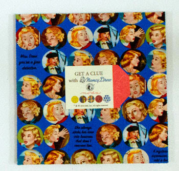 Nov/12 - Get A Clue With Nancy Drew Layer Cake