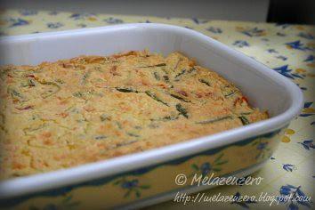 farinata con verdure