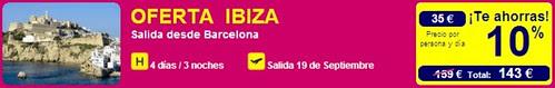 Oferta Ibiza