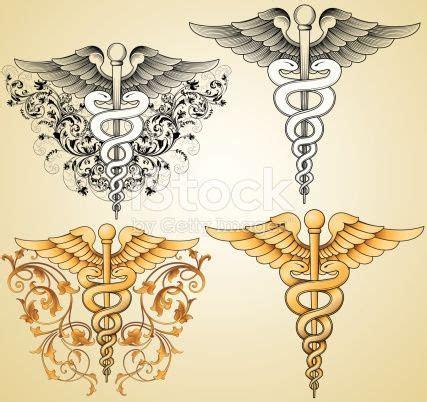 designed hand engraver set medical symbols