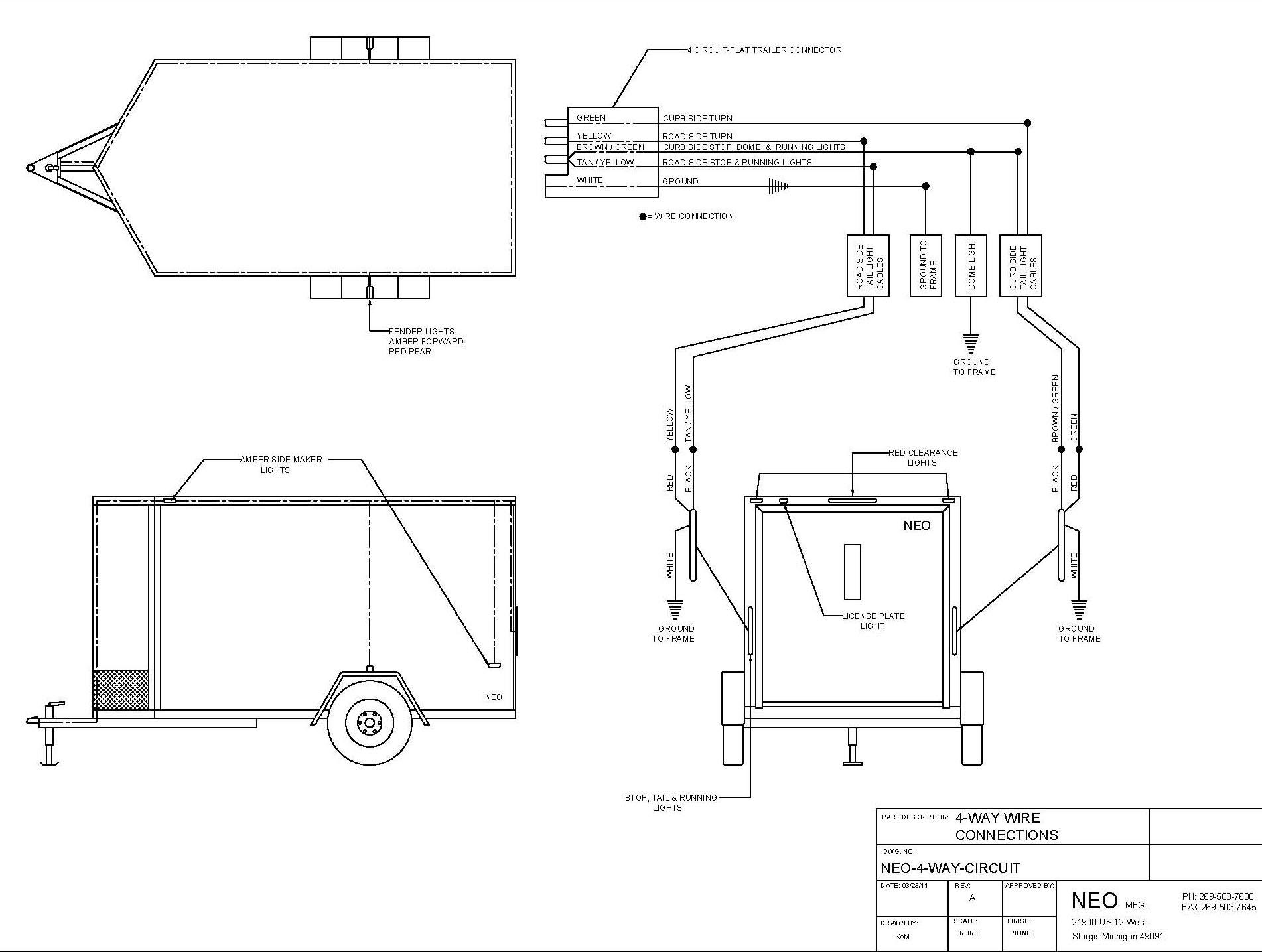Utility Trailer Ke Wiring Diagrams | WIRING DIAGRAM TUTORIAL