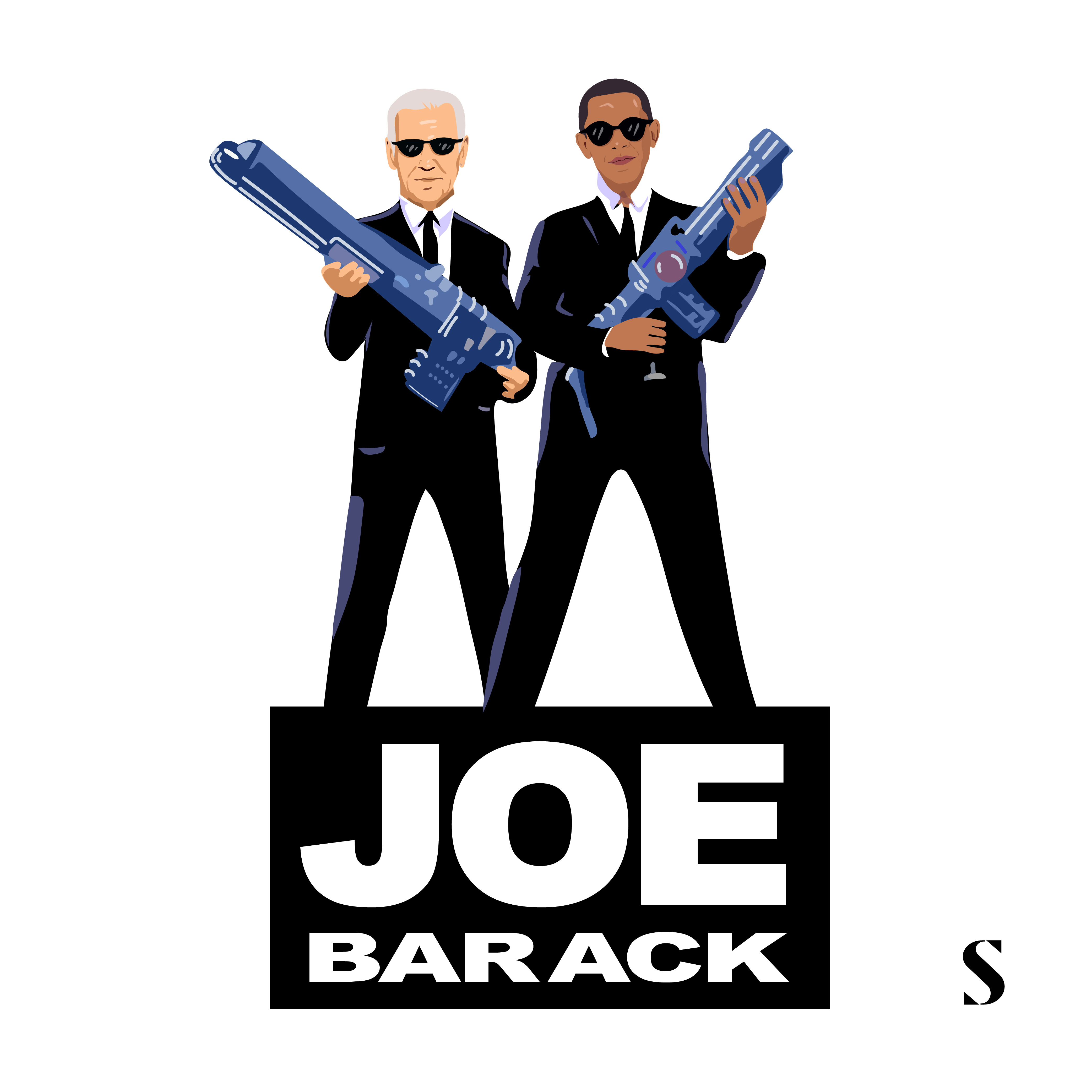 Joebama: White House Bromance #Infographic
