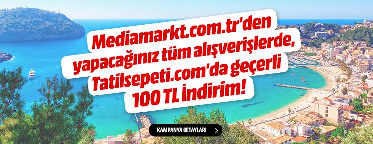 Mediamarkt.com.tr'den yapacağınız tüm alışverişlerde, Tatilsepeti.com'da geçerli 100TL indirim!