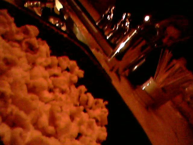 Popcorn at Tailor's downstairs bar