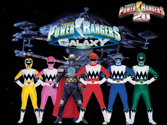 Power Rangers Lost Galaxy (Power Rangers Ke Enam) generasi 90 Merapat!