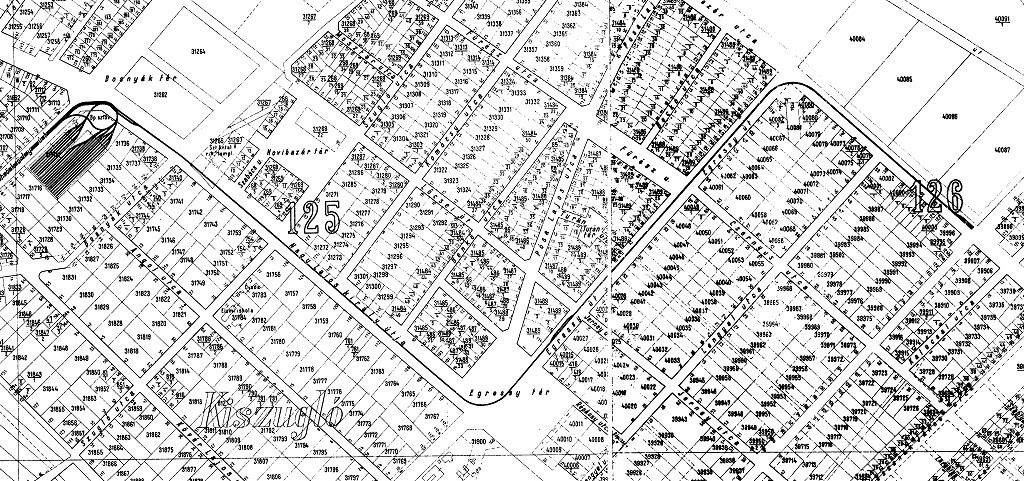 helyrajzi számos térkép Győr Helyrajzi Számos Térkép   Térkép