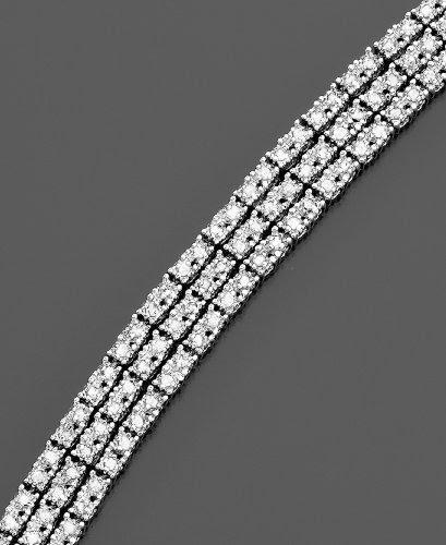 Sterling Silver Diamond Bracelet (2 ct. t.w.)